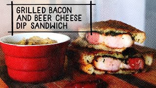 Bacon, Cheese Dip And Beer: This Sandwich Is Unbelievable | Big Food Fast