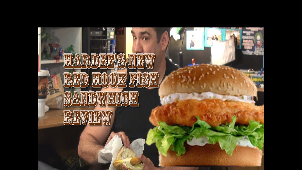 Dark goose reviews the hardee 39 s carl s jr red hook ale for Hardee s fish sandwich