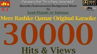 Mere Raske Qamar (Remix)- Karaoke - Instrumental - Background Music mp3