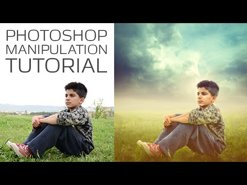 Photoshop Photo Manipulation Tutorial | Soft Light Effects