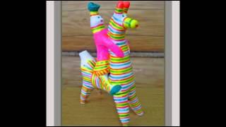 видео Филимоновская игрушка