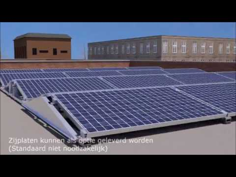 Platdaksysteem - Solar Construct