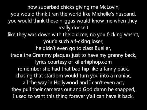 Forever - Drake, Kanye West, Lil Wayne, Eminem (LYRICS)
