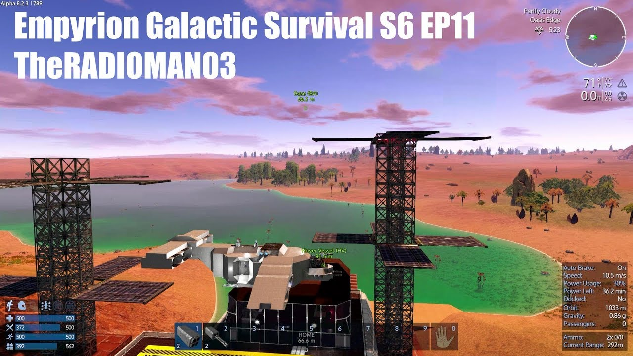 Empyrion Galactic Survival S6 EP11 `SV Lift Off`
