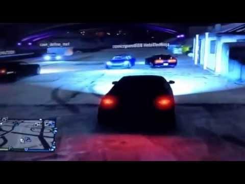 Gta 5 online car meet part 1