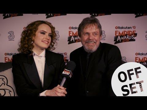 Mark Hamill & Daisy Ridley Ponder Over Luke Skywalker's future at the Empire Awards