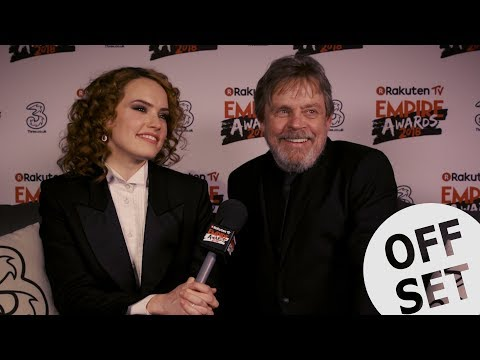 Mark Hamill & Daisy Ridley Ponder Over Luke Skywalker