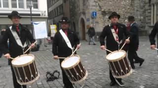 Tambouren Obwalden: Swiss City Marathon Luzern 2015