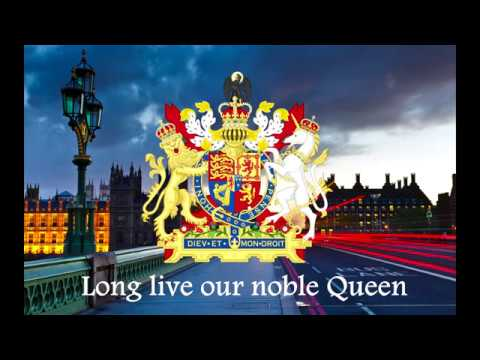 "The National Anthem of The United Kingdom of Great Britain and Northern Ireland ""God Save the Queen"""