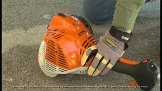 How To Unflood An FS 70 R Trimmer Video | STIHL USA