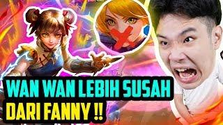 HERO BARU WANWAN lebih SUSAH dari FANNY!! PALA MAU PECAH!! - Mobile Legends