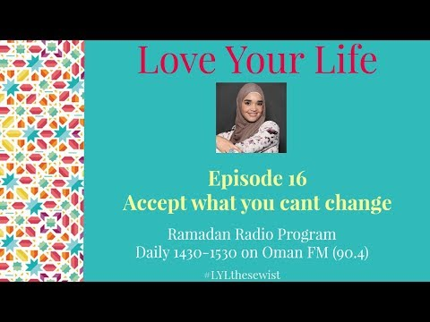 EP 16 Accept What You Cant Change with Karima Farid   Love Your Life   The Sewist