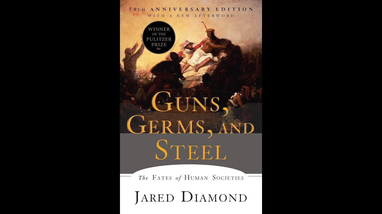 guns germs and steel review According to diamond, it is merely adventitious that eurasians possessed the guns, germs and steel to conquer foreign lands, for it was their indigenous proximity to an ecologically diverse landmass which provided the ultimate explanation for their success.