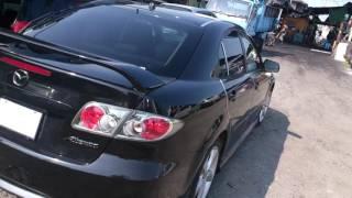 Видео-тест автомобиля Mazda Atenza (GG3S-104002, L3-VE, черная, 2002 г.)