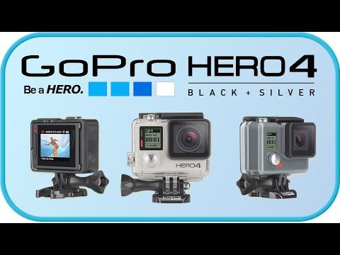 GoPro Hero 4 Black, Silver i GoPro HERO - Premiera Kamery Sportowej POV Recenzja Opinie Test PL