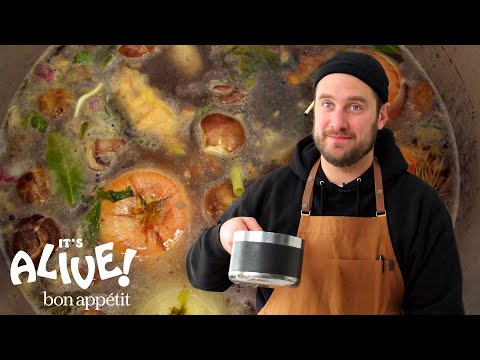 Brad Makes a Master Stock | It's Alive | Bon Apptit