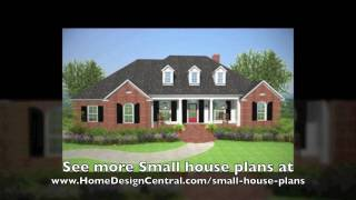 Small  House Plans At Home Design Central.com