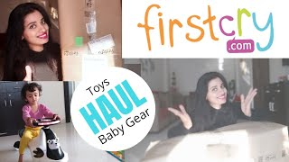 FirstCry Shopping Haul 2019 | I Bought Gifts for my Baby | Moms Gone Mad Sale | January Special