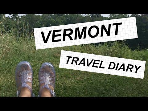 vermont travel diary // summer 2016 vermont vlog