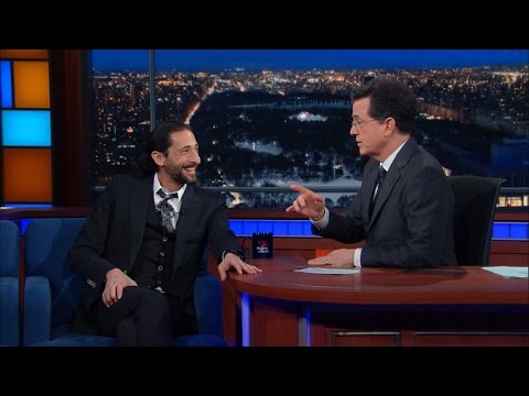 "Adrien Brody Appreciates ""Brodyquest,"" Among Other Fine Art"