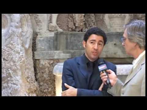 Salvo Nugnes, intervista di Gianni Marussi, Mostre d'Arte, 54° Festival dei 2 Mondi, Spoleto, 2011