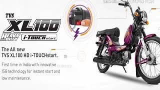 Tvs Xl 100 I Touch Start Good Bad Features Video Topkaru