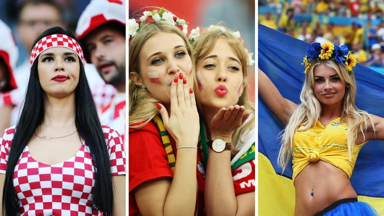 100 hot female fans in fifa world cup 2018 - youtube