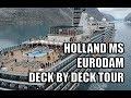Holland MS Eurodam tour