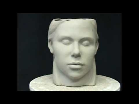 Ceramic Sculpture Sculpting A Head In Pottery Clay Pottery To Art