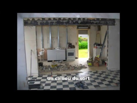 Une ouverture dans un mur porteur youtube - Comment casser un mur porteur ...