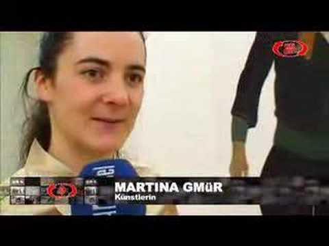 Martina Gmür in der Galerie Stampa