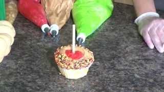 Treat Tips - Caramel Apple Cupcakes