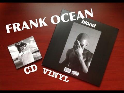 FRANK OCEAN BLOND VINYL & CD