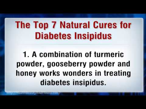 Natural Cures for Diabetes Insipidus
