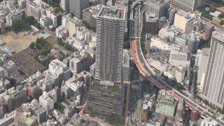 高層ビルに豊島区新庁舎 マンション分譲 負担ゼロ