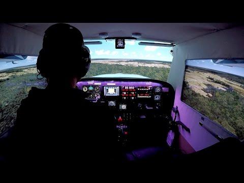 Africa! Lagos To Akure (Prepar3D Cessna Home Cockpit)