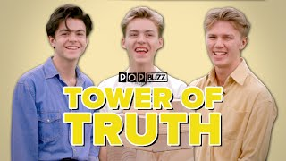 New Hope Club Reveal All Their Secrets In 'The Tower Of Truth' | PopBuzz Meets