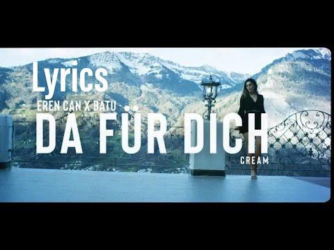 EREN CAN X BATU - DA FÜR DICH (lyrics) mp3
