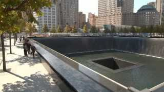 9/11 Memorial at the World Trade Center site