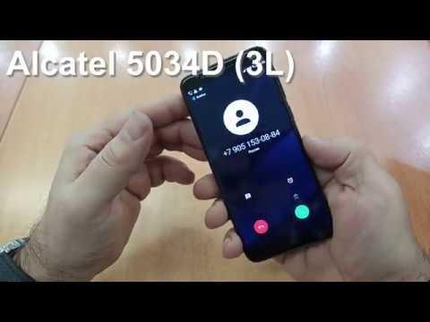 Alctatel 5034D Incoming Call And Ringtones. Входящий звонок, Встроенные Мелодии Звонка и Сообщений.