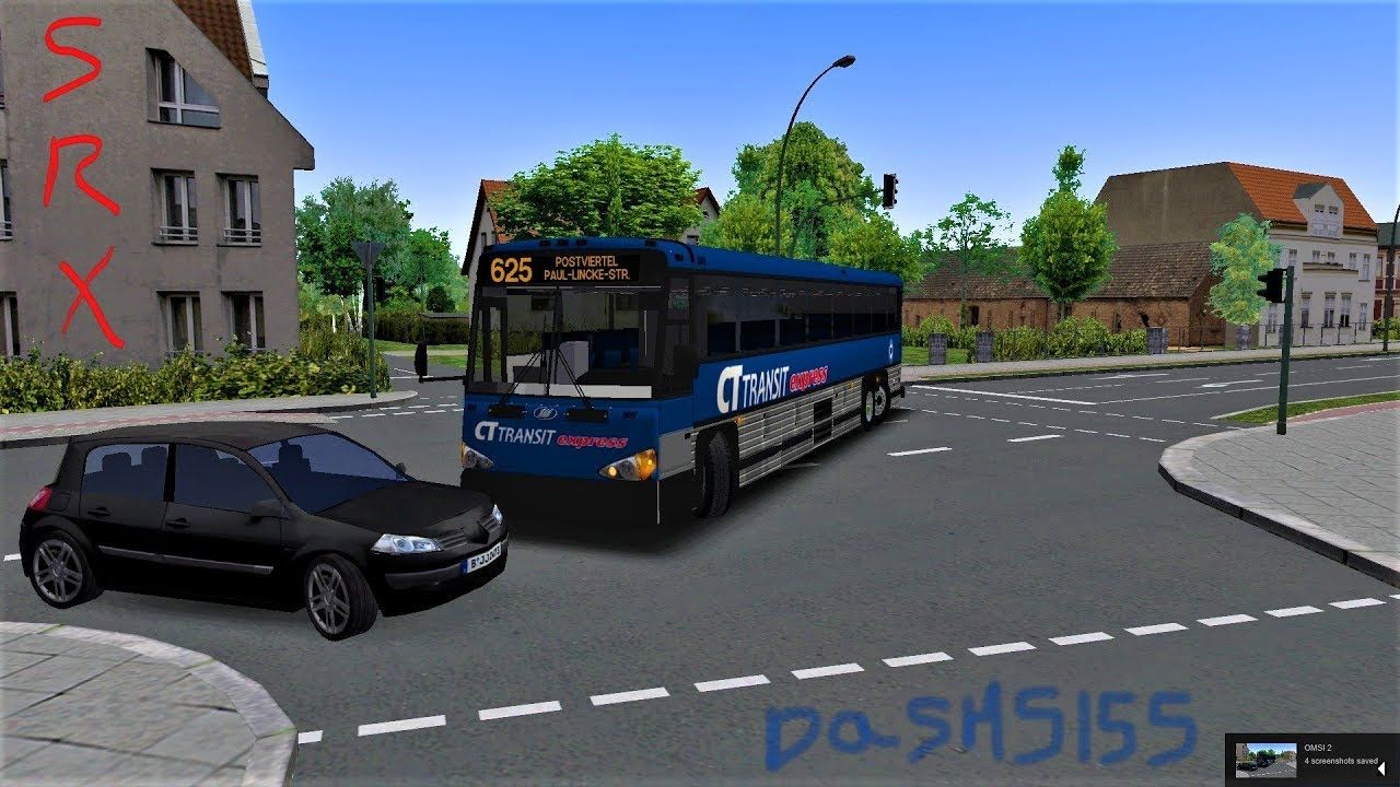 Omsi 2 - Berlin X10 - Route 625 To Postviertel W/ MCI Coach