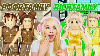 POOR FAMILY VS RICH FAMILY IN BROOKHAVEN! (ROBLOX BROOKHAVEN RP)
