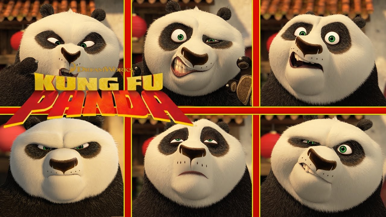 Funniest Panda Faces | NEW KUNG FU PANDA - YouTube