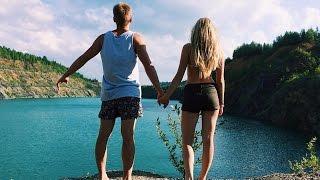 Водная Катапульта! Голубое Озеро PashaNastya Vlog