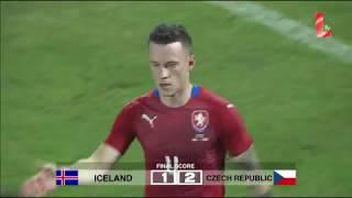 Video Gol Pertandingan Islandia vs Republik Ceko