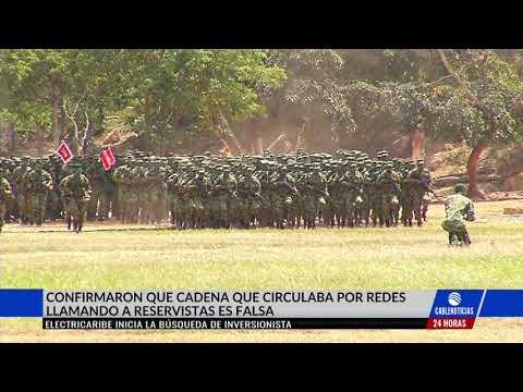 Ejército desmiente supuesto llamado a reservistas que circula en redes