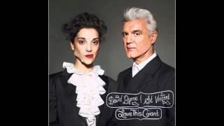 """David Byrne & St. Vincent - """"Who"""" (Lyrics)"""