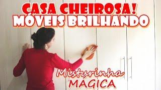 Móveis limpos e blindados contra POEIRA E MOFO! Misturinha mágica – Custa menos de $1,00