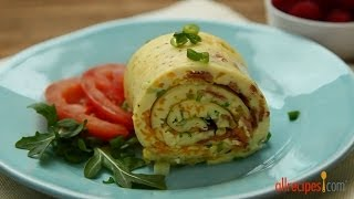 Brunch Recipes - How to Make a Baked Omelet Roll