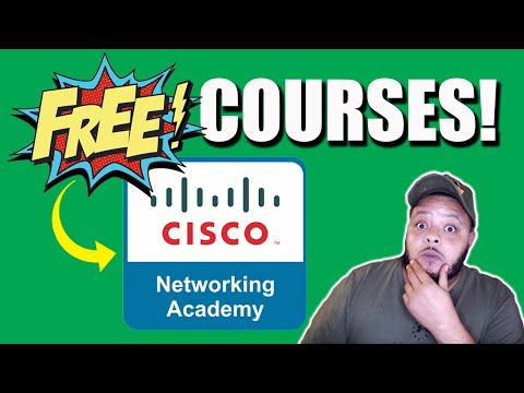 """Cisco Networking Academy """"Skills for All"""" Free IT Classes"""